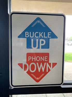BUPD Metal Sign